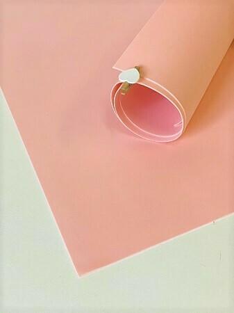 2мм 60х70см Иранский Фоамиран - Персик Розовый 0001