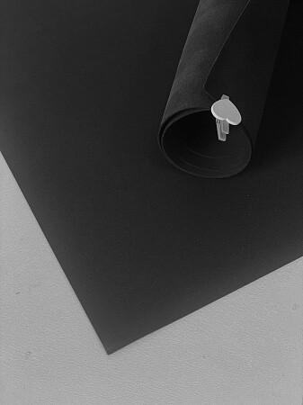 Фоамиран 2мм 60х70см - Черный