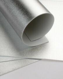 Фоамиран металлик -  Серебро А4 10 шт.