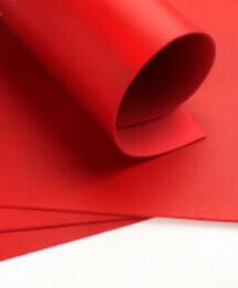 Фоамиран металлик Красный - А4 10 шт.
