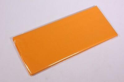 Бумага тишью 50*66 см 10 шт. оранжевая 123