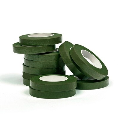 Тейп Лента - 25метров ширина 1,2см - Зеленая Болотная