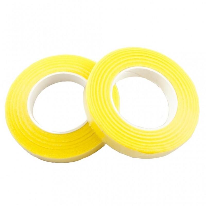 Тейп Лента - 25метров ширина 1,2см - Желтая