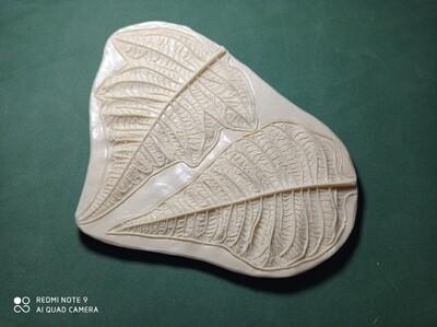 Молд Лепестки Пуансетии из 2х лепестков 11х6,5 и 11х9см