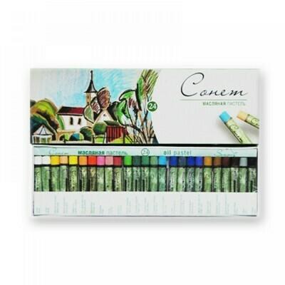 Масляная пастель Сонет от Невской Палитры - 24 расцветки