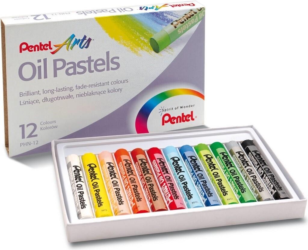 Набор пастель масляной «Pentel» - 12 расцветок