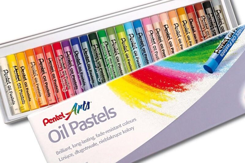 Набор пастели масляной «Pentel» - 25 расцветок
