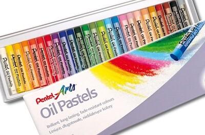 Набор пастель масляной «Pentel» - 25 расцветок