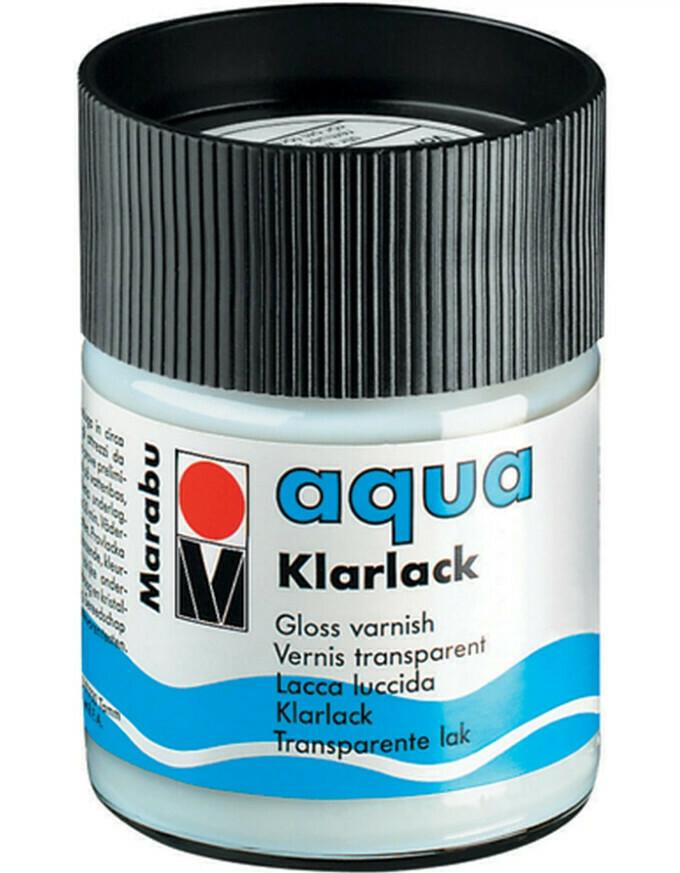 Лак акриловый глянцевый Marabu Aqua Klarlack - 50 мл