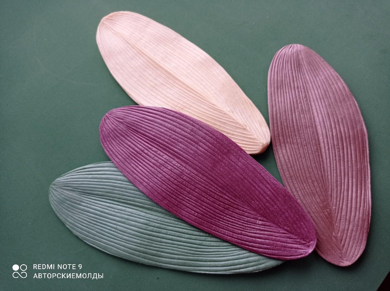МОЛД ЛИСТ Орхидеи 20х8см (1шт)