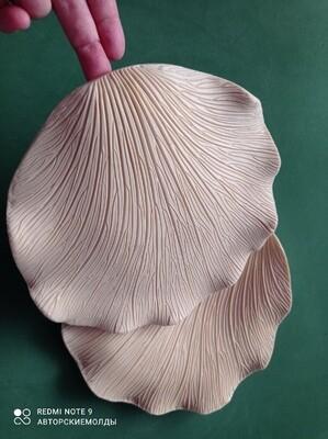 МОЛД Лепесток Розы 21х21см (1шт) подойдёт и для других растений на лепесточки, форму любую можно придавать