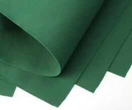 Фоамиран Eva 1 мм 50*50 см темно зелёный 4329