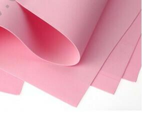 Фоамиран Eva 1 мм 50*50 см розовый 1503