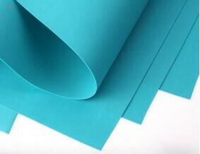 Фоамиран Eva 1 мм 50*50 см голубой 4392