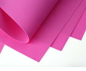 Фоамиран Eva 1 мм 50*50 см розовый 1522