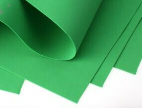 Фоамиран Eva 1 мм 50*50 см зелёный 4357