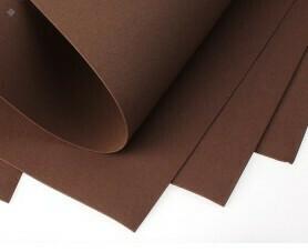 Фоамиран Eva 1 мм 50*50 см коричневый 6804