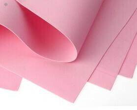Фоамиран Eva 1 мм 50*50 см розовый 1501