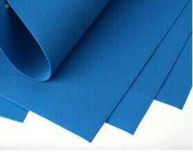 Фоамиран Eva 1 мм 50*50 см синий 5717