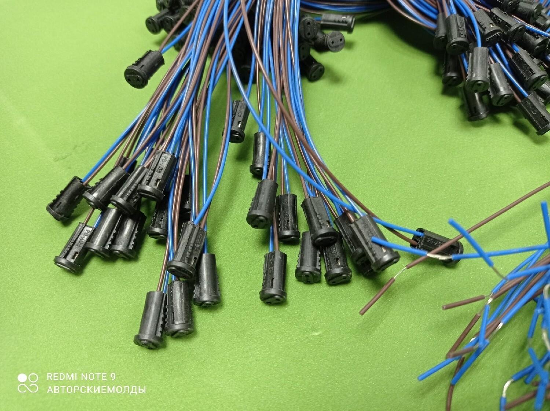 Патрон LH21/LH301, 230V, G4, цвет черный, длинный провод 58см