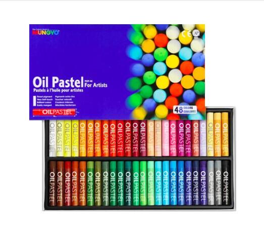 Пастель Mungyo Artists Oil Pastel масляная круглая 48 цветов в картонной упаковке