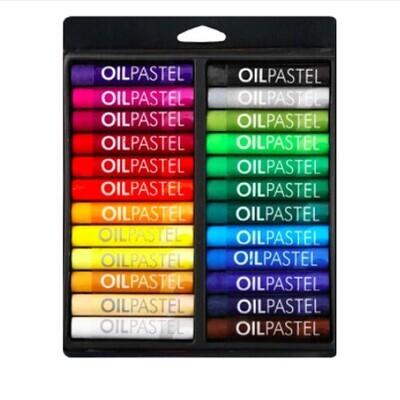 Пастель Mungyo Gallery Oil Pastel масляная круглая 24 цвета (основные) в блистере