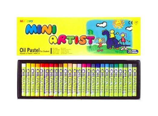 Пастель Mungyo Mini Artist Oil Pastel масляная 25 цветов для начинающих