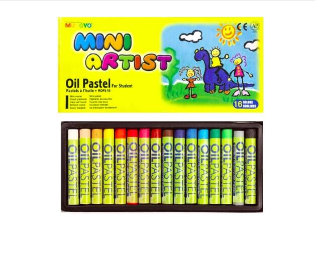 Пастель Mungyo Mini Artist Oil Pastel масляная 16 цветов для начинающих