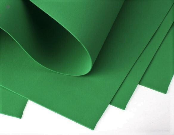 Фоамиран 1мм, Иранский 60х70см Темно-Зеленый №179