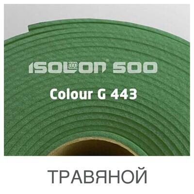 Изолон 2мм - Травяной ширина 75см