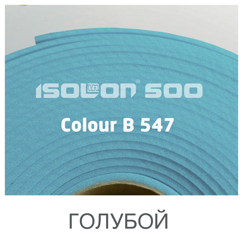 Изолон* 2мм - Голубой ширина 75см (#547)