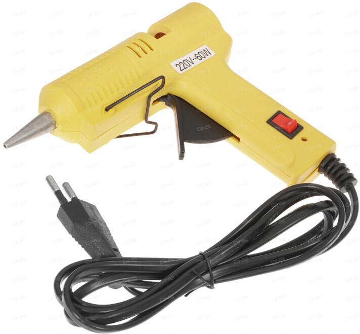 Клеевой пистолет DEKO DKGG60 063-4965 5 г/мин, 7 мм (+ 2 стрежня)