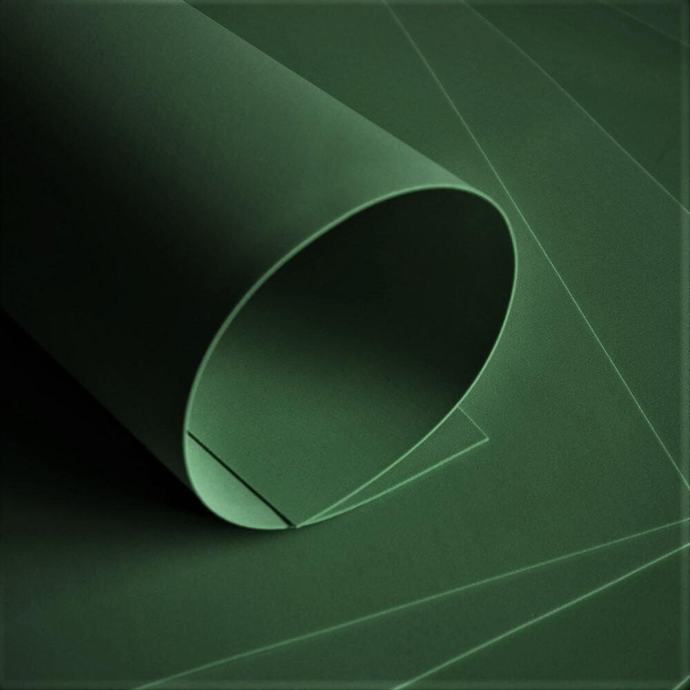 Фоамиран Зефирный Темно-зеленый 2мм, 50х50см ХИТ ПРОДАЖ (тёмная трава)