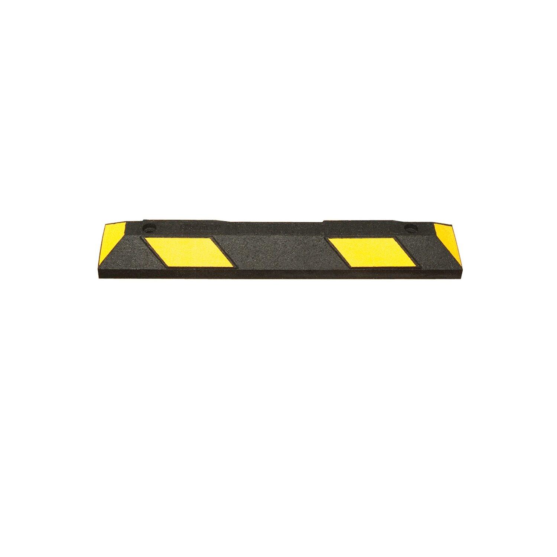 Wielstop Park-it 900x150x100mm, zwart/geel.