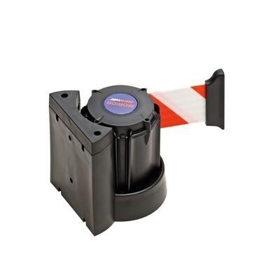 MORION wandriem 3000mm, zwart/rood/zwart, wandriem te schroeven.