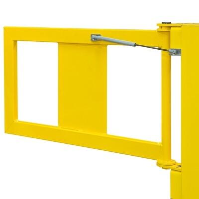 BLACK BULL balustrade (deur) S-Line (gasdrukveer), 905x520mm.