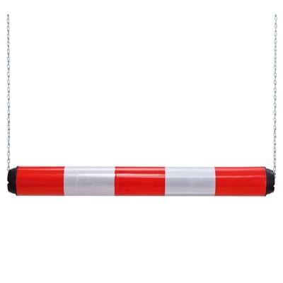 MORION hoogtebegrenzer kunststof 950x100mm, rood/wit.