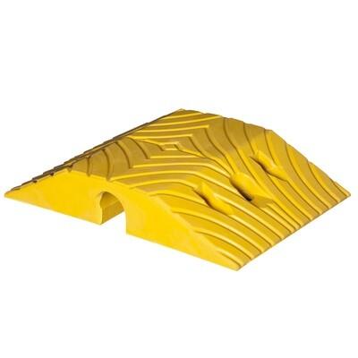 TOPSTOP-10 verkeersdrempel, geel, 405x250x70mm.