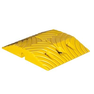 TOPSTOP-20 verkeersdrempel, geel, 340x250x50mm.