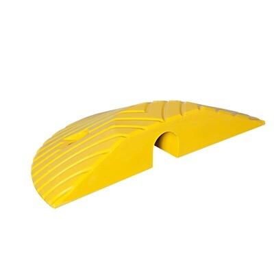 TOPSTOP-10 verkeersdrempel, geel, 405x210x70mm.