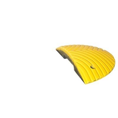 TOPSTOP 5-RE verkeersdrempel  met pen, 500x250x70mm, geel.