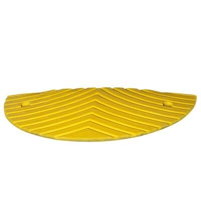 TOPSTOP 30-RE verkeersdrempel, 500x500x30mm, geel.