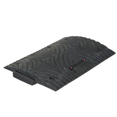 TOPSTOP 20-RE verkeersdrempel, 400x500x50mm, zwart