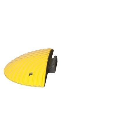 TOPSTOP 5-RE verkeersdrempel, 500x250x70mm, geel.