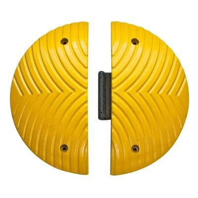 TOPSTOPer twee afsluitelementen, Topstop 5-RE, geel, 500x70mm.