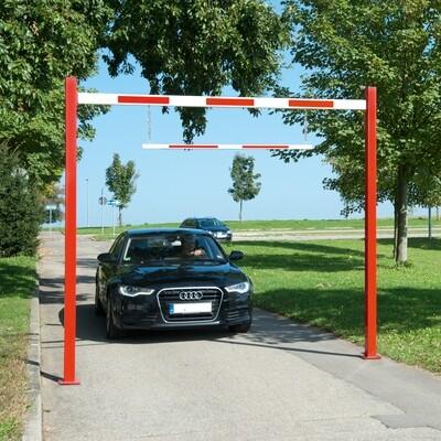 COMPACT hoogte begrenzer starr, totale lengte 7230mm.