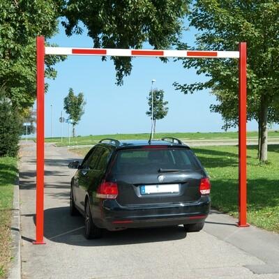 COMPACT hoogte begrenzer starr, totale lengte 8230mm.