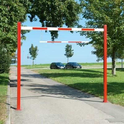 COMPACT hoogte begrenzer starr, totale lengte 3230mm.