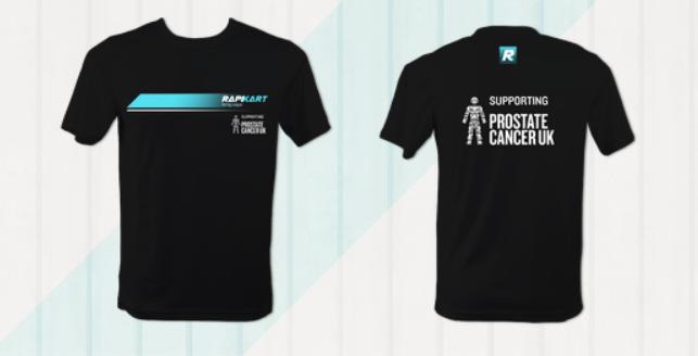 RapiKart Prostate Cancer UK T-shirt