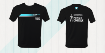 RapiKart Prostate Cancer UK T-shirt
